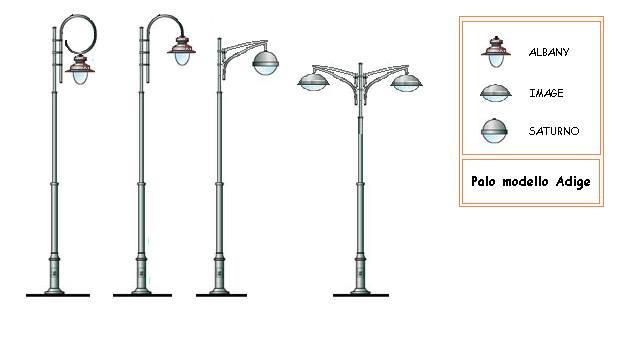 Pali Illuminazione Pubblica: Luigi iannone ? braccio per pubblica illuminazione divisare.